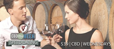 CBD Midweek Speed Dating – Wednesdays