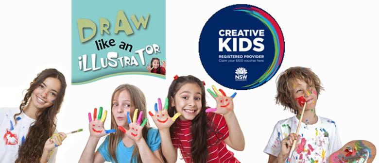 Drawing, Art, Illustration Workshop for Kids