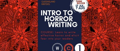 Introduction to Horror Writing With Claire Fitzpatrick