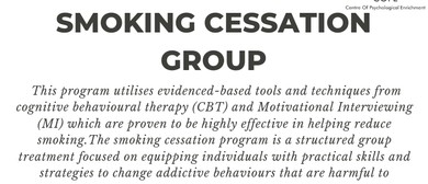 Smoking Cessation Group