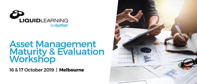 Asset Management Maturity & Evaluation Workshop
