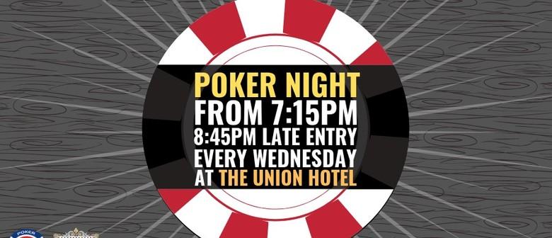 Union Big Stack | Wednesday Poker Nights