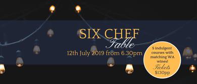 Six Chef Table