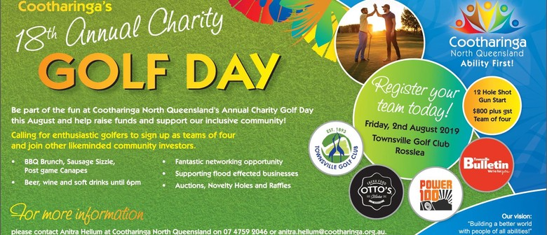 Cootharinga North Queensland 18th Annual Charity Golf Day