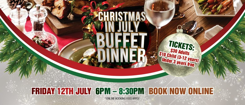 Christmas In July Buffet Dinner