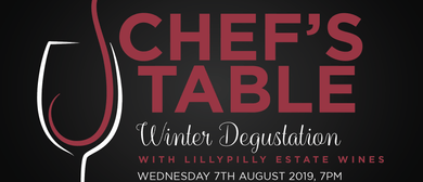 Chefs Table Winter Degustation