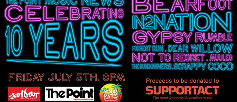 The Point Party – Celebrating 10 Years of Music News