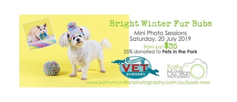Bright Winter Fur Bubs Mini Photo Session