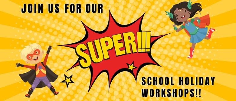 Superhero School Holidays Workshops