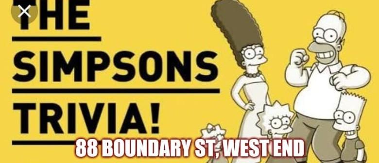 The Simpsons Mega Mash Up Trivia Night