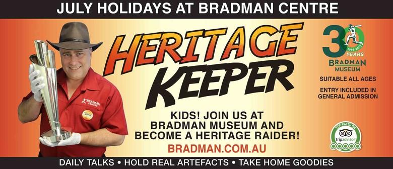 July School Holidays – Heritage Keeper Talks