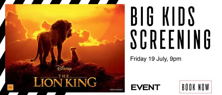Big Kids Screening – The Lion King