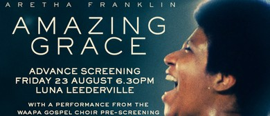 Amazing Grace Advance Screening