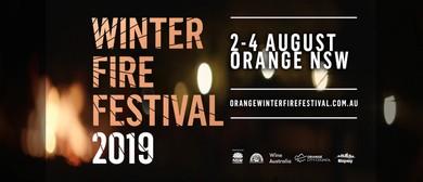 Orange Winter Fire Festival