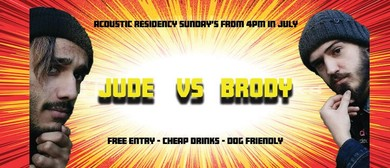 Jude Joseph and BrodyGreg – July Sunday Residency