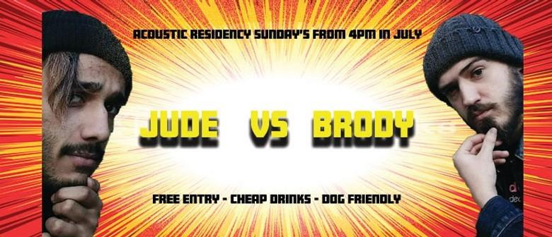 Jude Joseph and BrodyGreg – July Sunday Residency