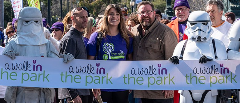 Take a Walk In the Park and Step Out for Parkinson's
