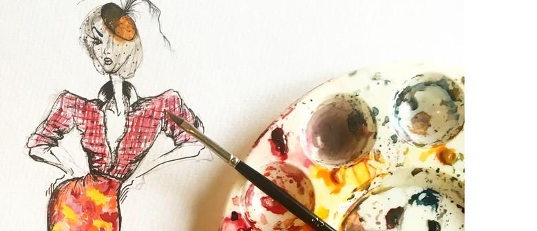 Fashion Illustration Workshop With Estelle