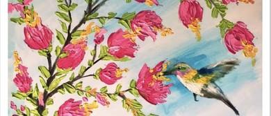 Humming Away – Social Painting Class