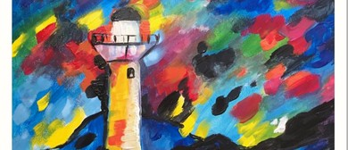 Be a Lighthouse – Sip and Paint Class