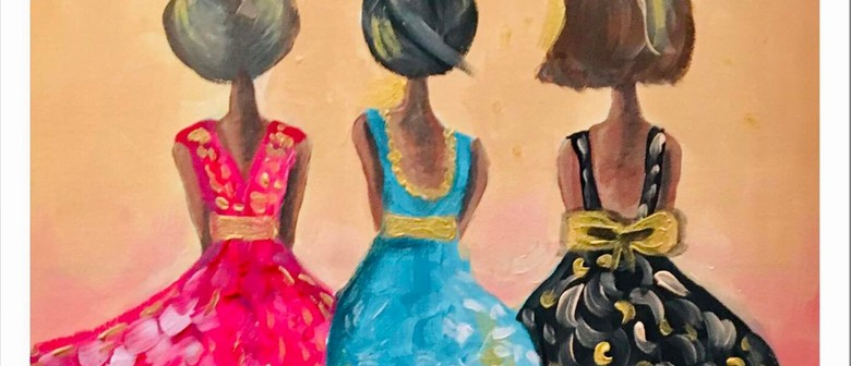Golden Girls – Dine In Social Painting Class