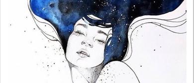 Universe Lady – Social Painting Class – BYO