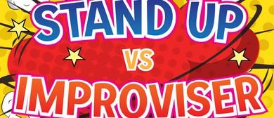 Stand Up Vs Improviser