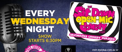 Open Mic Comedy Night
