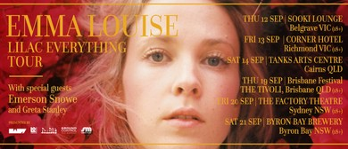 Emma Louise – Lilac Everything Tour