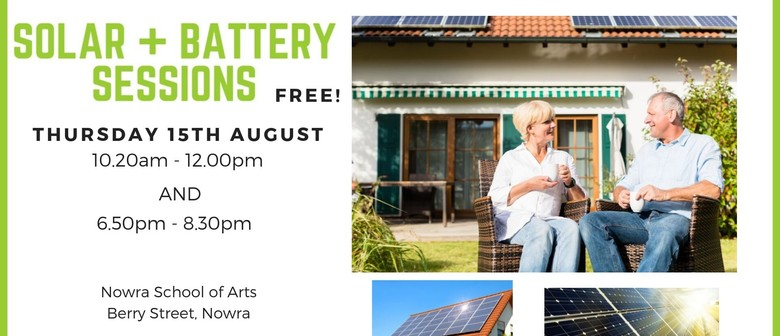 Solar Power Information Sessions