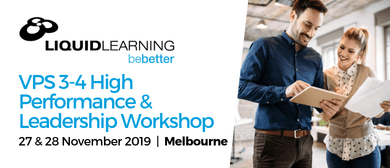 VPS 3–4 High Performance & Leadership Workshop