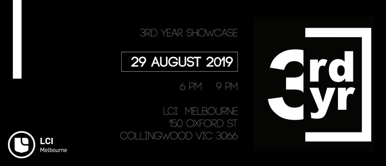LCI Melbourne - Third Year Showcase