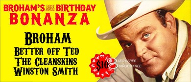 Broham's Birthday Bonanza – Country Roots Rock