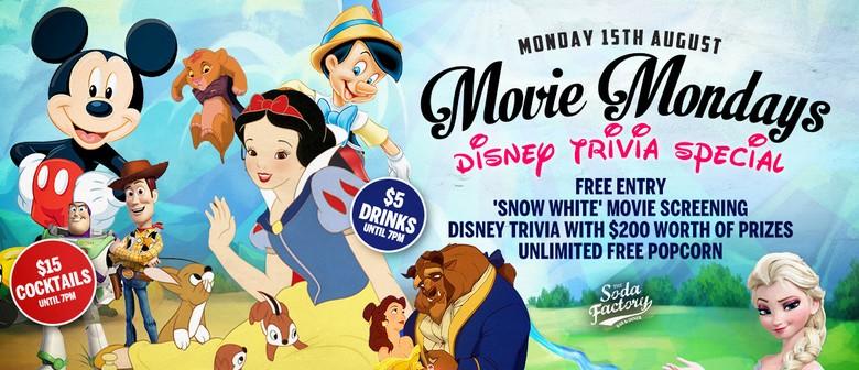 Movie Mondays Ft. Disney Trivia