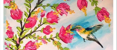 Palette Knife Flowers – Social Painting Class