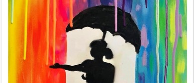 Paint Like Banksy – BYO Painting Fun Class