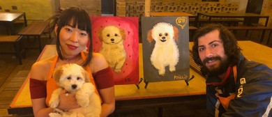 Paint Your Pup – Dog-Friendly Painting Class