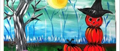 Spooktacular Pumpkins – Sip and Paint Party