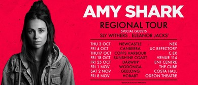 Amy Shark Australian Regional Tour 2019