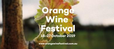 2019 Orange Wine Festival
