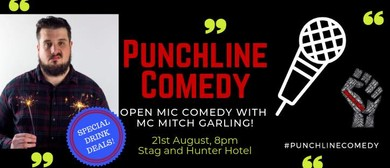 Punchline Comedy with Mitch Garling