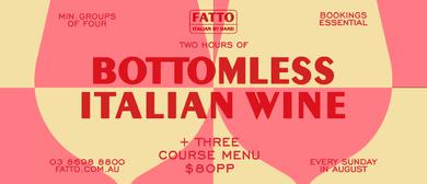Bottomless Italian Wine