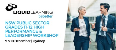 Grades 11–12 High Performance & Leadership Workshop