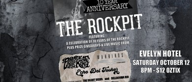 The Rockpit 10th Birthday