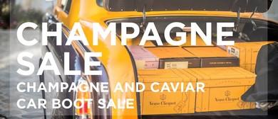Champagne & Caviar Warehouse Sale