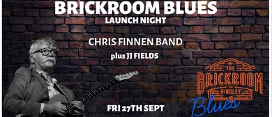 Brickroom Blues With Chris Finnen Band and JJ Fields