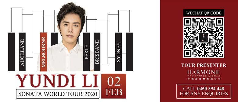Yundi Li Sonata World Tour 2020 Melbourne Concert