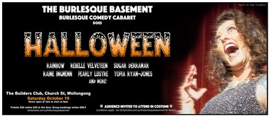 The Burlesque Basement Does Halloween