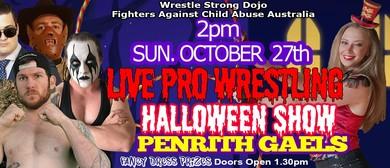 Pro Wrestling Halloween Show