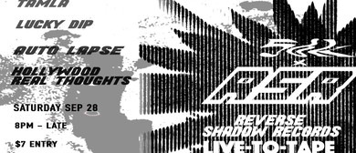 56k Records X Reverse Shadow Records – Live to Tape